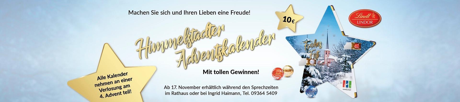 Himmelstadter Adventskalender zur 1200-Jahrfeier